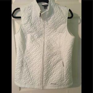 Eddie Bauer white sleeveless vest